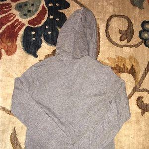 Lacoste Tops - Grey Lacoste Hoodie